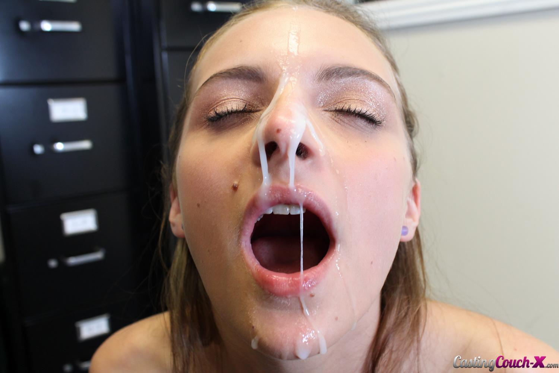 Nerdy Girl Glasses Facial